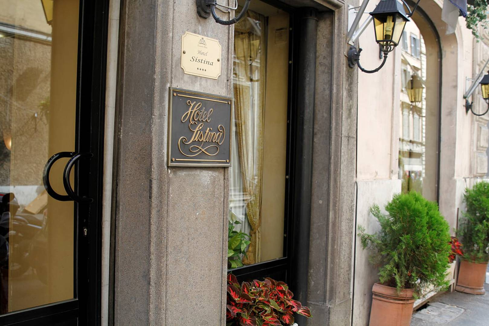 Your charming hotel in rome sistina hotel
